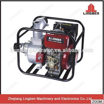 LingBen 2 3 4 Inch Cheap Price Of Diesel Engine Water Pump Set For Agriculture Irrigation