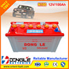Super Power Auto Starting Dry charged Car Battery N100 12V 100Ah