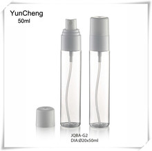 Plastic PET cream pump bottles