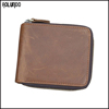 Fashion small vintage leather men wallet