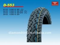 strong body motorcycle tubeless tyre and inner tube
