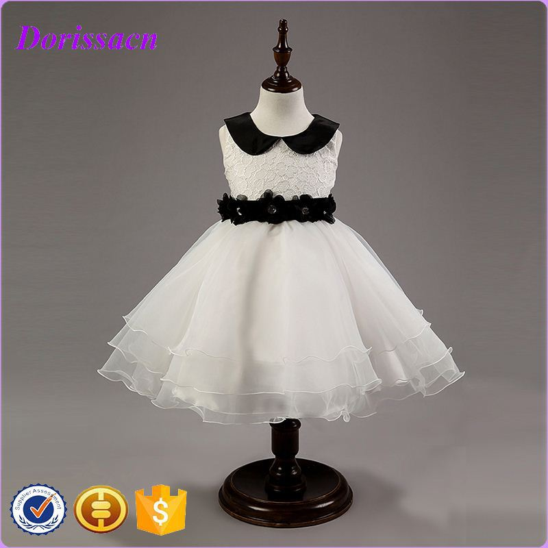 kids princess wedding dresses for small size girls toddlers sleeveless party girl dress elegant ball baby grown