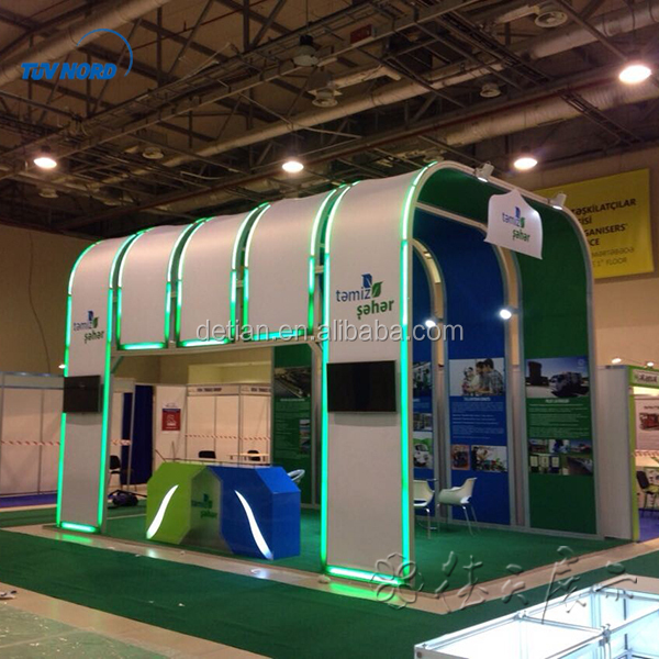 Exhibition booth system panel made of plywood