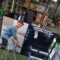Detian Display offer portable stand display 20 by 30 island display for trade show