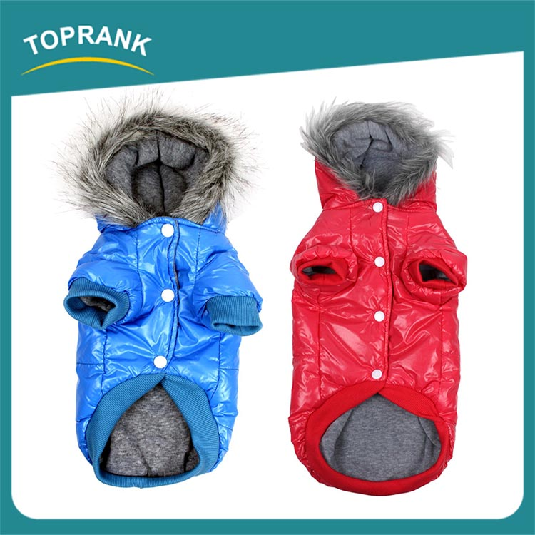 TOPRANK Supply Quality Wholesale Best Design Winter Dog Clothes Wholesale Cute Dog Clothes For Small Dogs