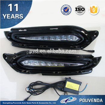 led daytime running light HRV DRL for honda VEZEL and XR-V HR-V 2015 brightness lamp led bar