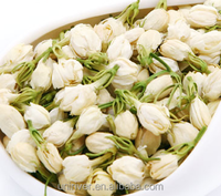 Dried jasmine flowers tea