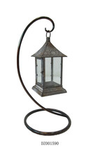 Decorative Metal Lantern Stand For Candle Holder