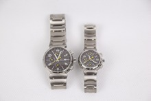 Hot Selling Valentines Gifts Japan Quartz Couple Lover Wrist Watch Titanium
