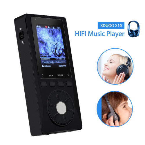 XDUOO X10 <strong>MP3</strong> Player Portable Lossless DSD Music Player Black for Music lover