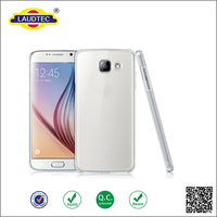 Clear Ultra Slim Silicone Gel back Case Cover for Samsung A5(2016) A510 ----- Laudtec