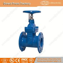 BS5163 Resilient seated electric actuated gate valve PN16