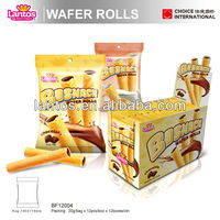 Lantos Brand chocolate and cream Wafer Roll Stick