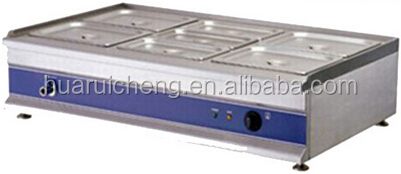 Supmermarket chain store fast food electric bain marie