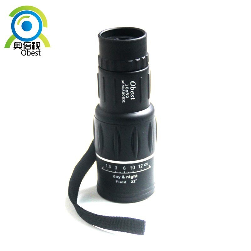 New Generation Monocular Telescope Dual Focus16X52 Zoom Telescope LLL Night Vision 66-1000M Field Travel Sport Hunting Telescope