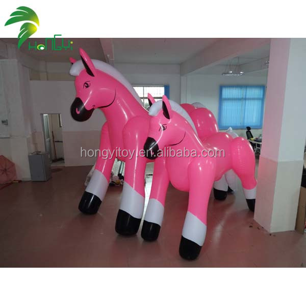 2014 Guangzhou Hongyi Company Enjoy Good Reputation Customized Big PVC Horse Inflation