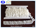 25mm vintage cotton strech lace for dress,decorative ruffle lace trim
