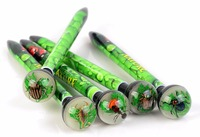 2016 novel REAL insect animal ballpoint pen gift for school boys