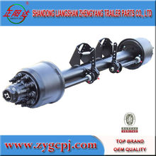 China made low price lift axle for trailers