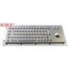 Waterproof IP65 Metal Kiosk Keyboard with Built in Trackball