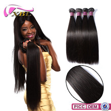 XBL hair 5A-10A Wholesale Unprocessed Brazilian Straight Hair