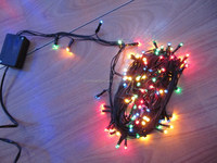 18m extendable decorative fairy string light underwater led christmas lights