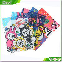 Shanghai Factory Plastic Material PP Writing Pad /PP Place Mat For Children
