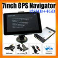 "7"" Car Navigator GPS with Built in 4GB and Free Navigation Maps"