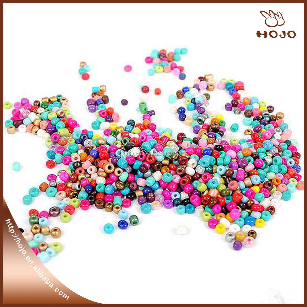 Wholesale Opaque Glass Seed Bead in bulk for beads jewelry fabric sewing DIY