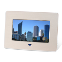 7 Inch Video Blue Film Digital Picture Frame HD Photo Video