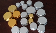metal aluminum screw cap and lid with PE & PS Seal