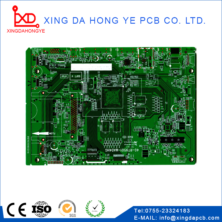rainbow television PCB supplier custom high quality lcd crt tv PCB circuit boards