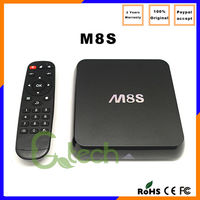 Online wholesale Android M8S S812 TV box XBMC fully load with Kodi Bluetooth V4.0 M8S android TV box S812