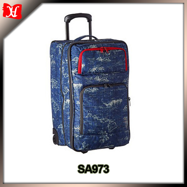 600D Polyester Rolling Luggage For Travel