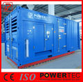 Canopy Type 600KW Power Plant/ Container Type Diesel Generator 750kva