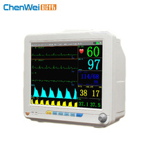 High quality medical portable TFT LCD screen multi-parameter patient monitor price Q500