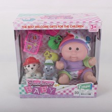 wholesale kids toy baby toys doll with pet and bag