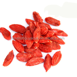 China 2018 New product organic dried goji berries or Natural Lycium barbarum