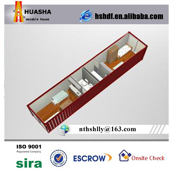 40HC 40GP Prefab Insulated Sea Container