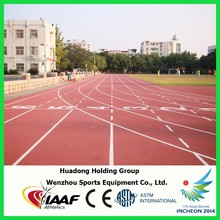 Outdoor sports flooring prefabricated synthetic rubber track surface, running track surface, jogging track