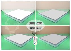 Newest dimmable led panel light led panel 600x600 CE ROHS FCC led panel lighting