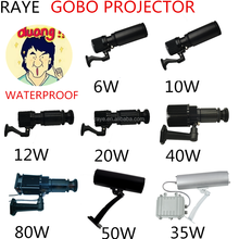RAYE BIG SALE gobo light company logo projector LED waterproof IP65