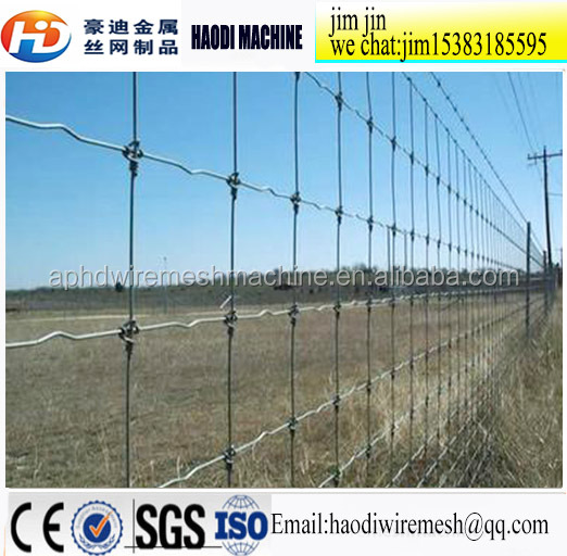 Factory price Animal Fence/Wire Mesh For Grassland/field fence stretcher