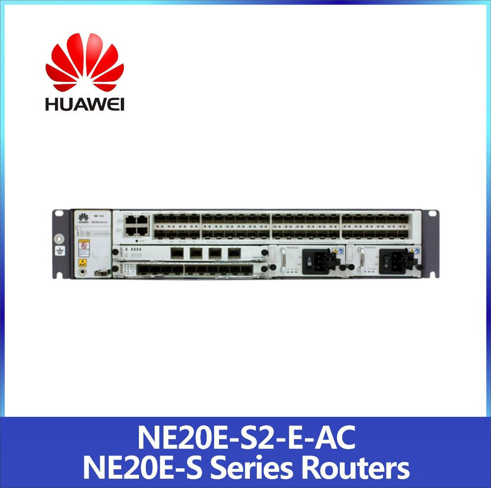 China Exporter NE20E-S2E Huawei Routers supports Full IPv6 MPLS VPN with Best Price
