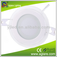 hot sale crystal glass cover SMD5730 16W LED ceiling downlight