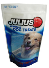 stand up resealable pet food packaging bags