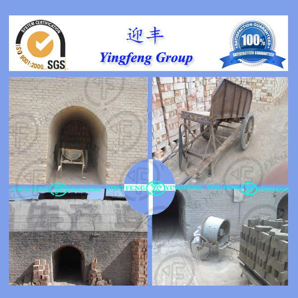 New technology!!! YF kiln for clay brick production, clay brick machine with hoffman kiln