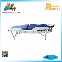 Better aluminium portable massage table,new concept massage table