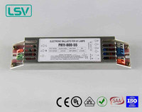 Electronic ballast for T5 uv lamps