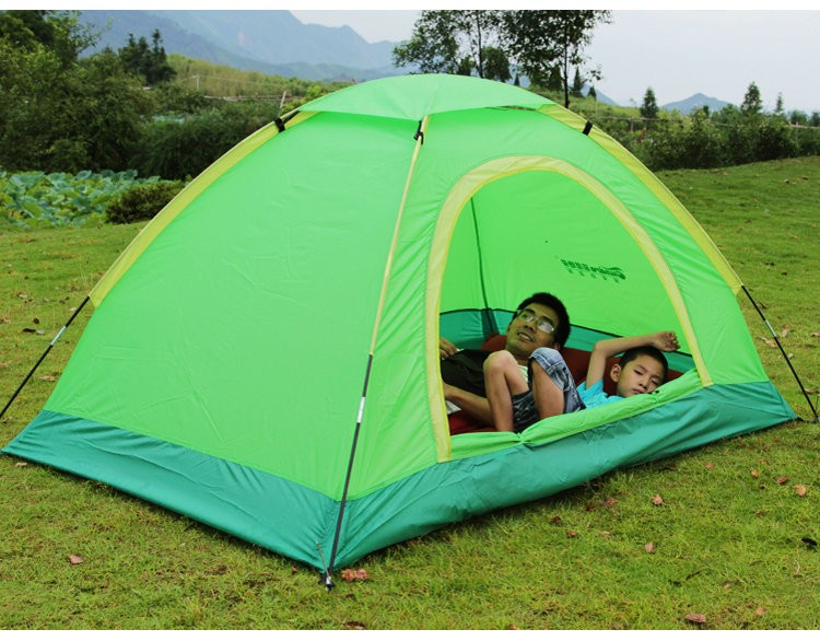 New folding winter sleeping heated camping tent for camper